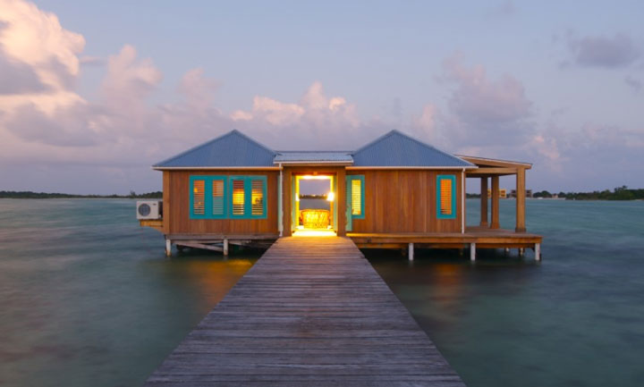 Cayo Espanto Private Island Resort In Belize Overwater