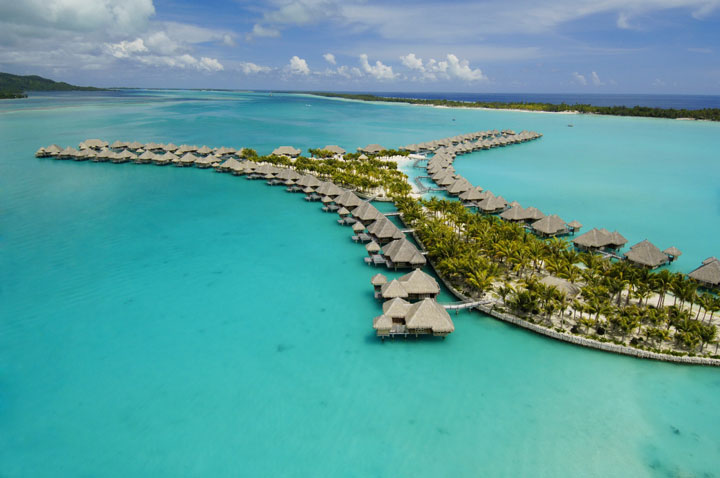St Regis Bora Bora Aerial