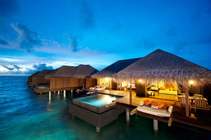Overwater Bungalows In Malaysia Part - 16: Ayada Maldives Resort