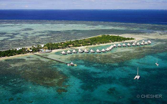 l'Escapade Island Aerial