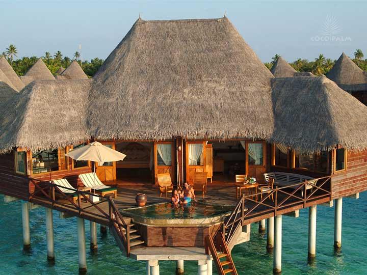 Coco Palm Dhuni Jacuzzi Deck