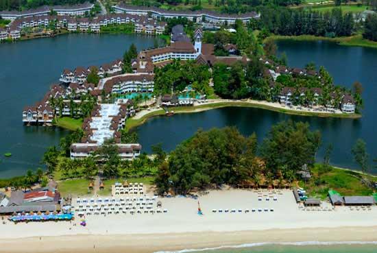 Angsana Grande Laguna Phuket overwater bungalows